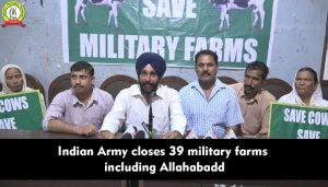 Indian Army Closes 39 Military Farms Including Alld