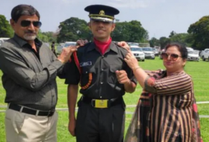 Haryana Son Navneet Madaan Becomes Lieutenant In Indian Army