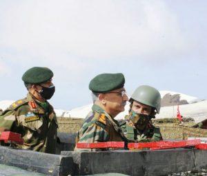 Army Chief MM Naravane Reviews LOC Situation