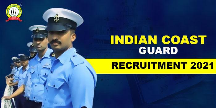 Indian Coast Guard Recruitment 2021