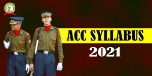 ACC Exam Syllabus 2021