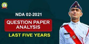 NDA Question Paper Analysis (Last Five Years)