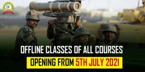 Trishul Defence Academy Resumes Offline Classes From 5 July 2021