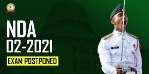 NDA 2 2021 Exam Postponed, New Date – 14 Nov 2021