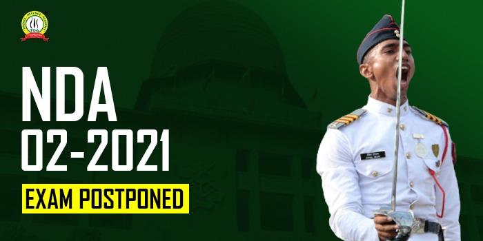 NDA 2 2021 Exam Postponed