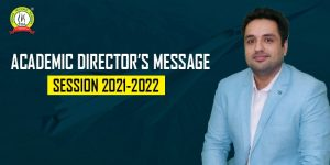 TDA Academic Director's Message For Academic Session 2021-22