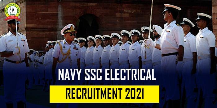 Indian Navy SSC (Electrical) Recruitment 2021