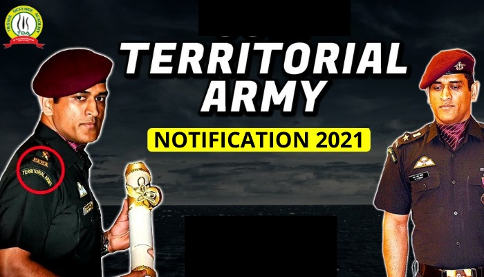 Territorial Army Notification 2021