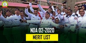 NDA 2 2020 Merit List Published