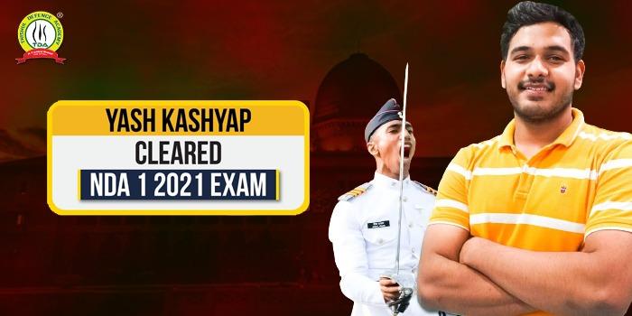 Yash Kashyap NDA 1 2021