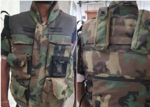 Lightest Bulletproof jacket made of silicon boron carbide for Indian Army