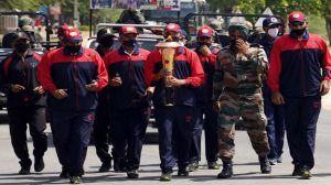 Golden victory torch reached Nasirabad Military Cantonment Ajmer