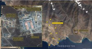 Chinese PLA is stationed near Pangong Lake ! Satellite Images Expose Chinese Lie