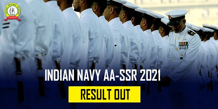 Indian Navy AA/SSR 2021 Result