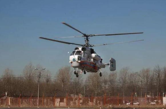 Helicopter crash Kathua