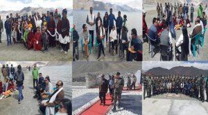 Lok Sabha Speaker Om Birla Reaches Ladakh To Meet Indian Army Soldiers