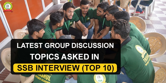 Latest Group Discussion Topics SSB
