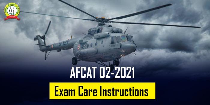AFCAT 2 2021 Exam Centre