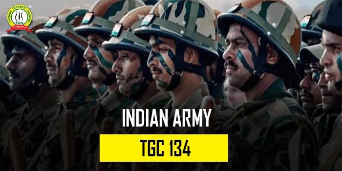 Indian Army TGC 134 Notification
