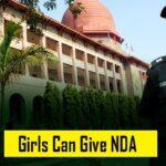 Girl Can Give NDA Exam