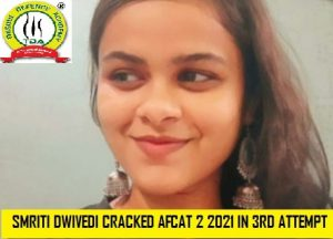 NiTian & Trishulian Smriti Dwivedi Cracks AFCAT in Third Attempt