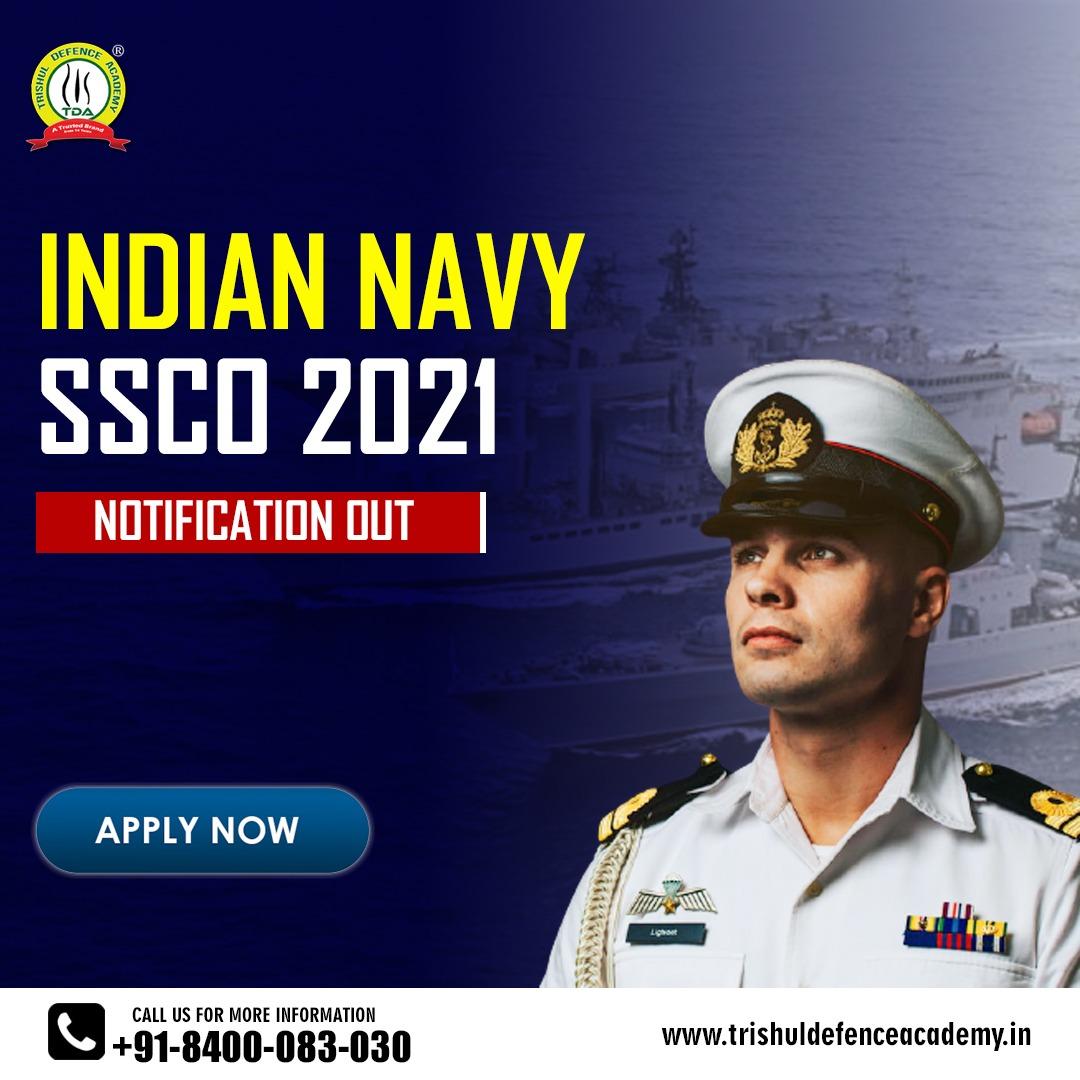 Indian Navy SSCO 2021