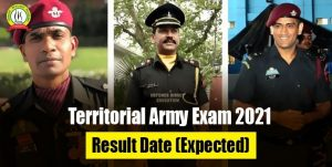 Territorial Army Exam 2021 Result Date (Expected)