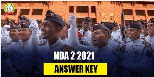 NDA 2 2021 Answer Key of All Sets