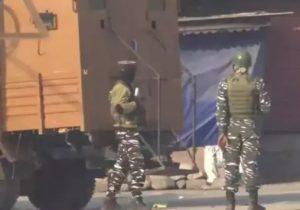Pampore Terrorist Encounter : 2 Terrorists Including Top Commander Mustaq Khande Killed
