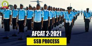 AFCAT 2 2021 SSB Process